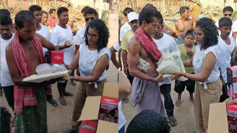 Bless to Serve 700 Families - Odisha Cyclone Victims - 2
