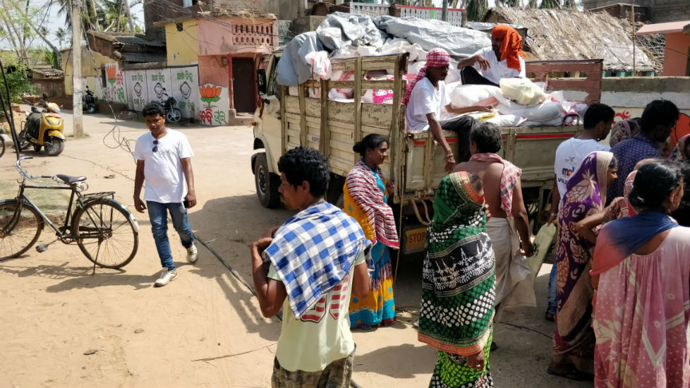 Bless to Serve 700 Families - Odisha Cyclone Victims - 4
