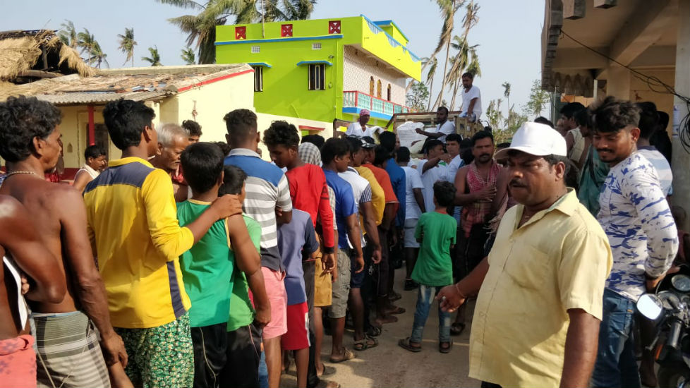 Bless to Serve 700 Families - Odisha Cyclone Victims - 8