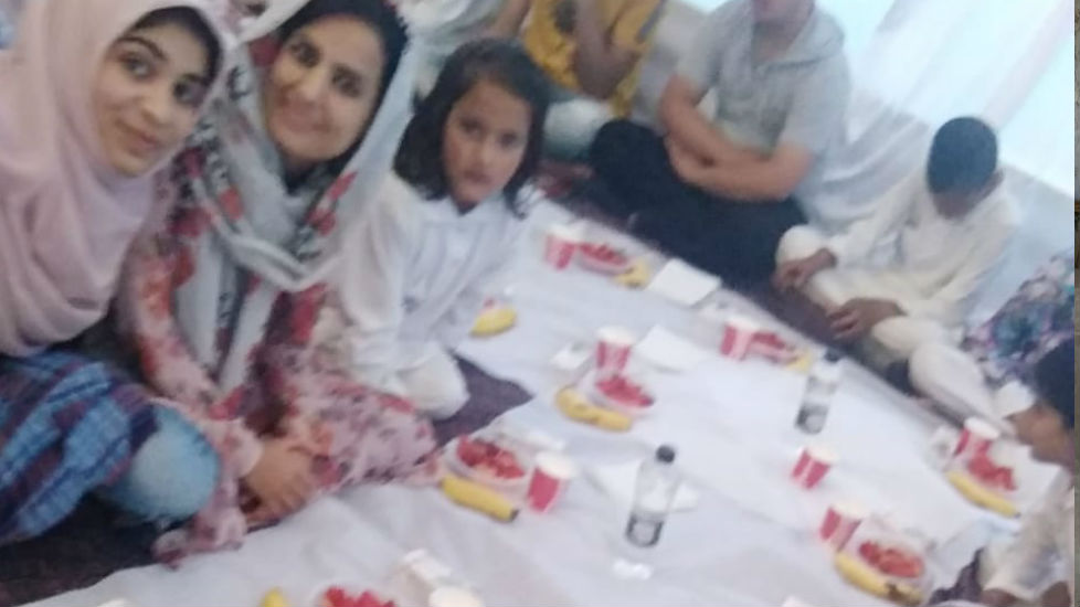Specially Abled Student got 2nd Position in Naat Competition - Naziya Hurra 2