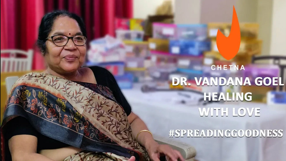 Stories of our PJF heroes | Healing with love - Dr. Vandana Goel - The Chetna