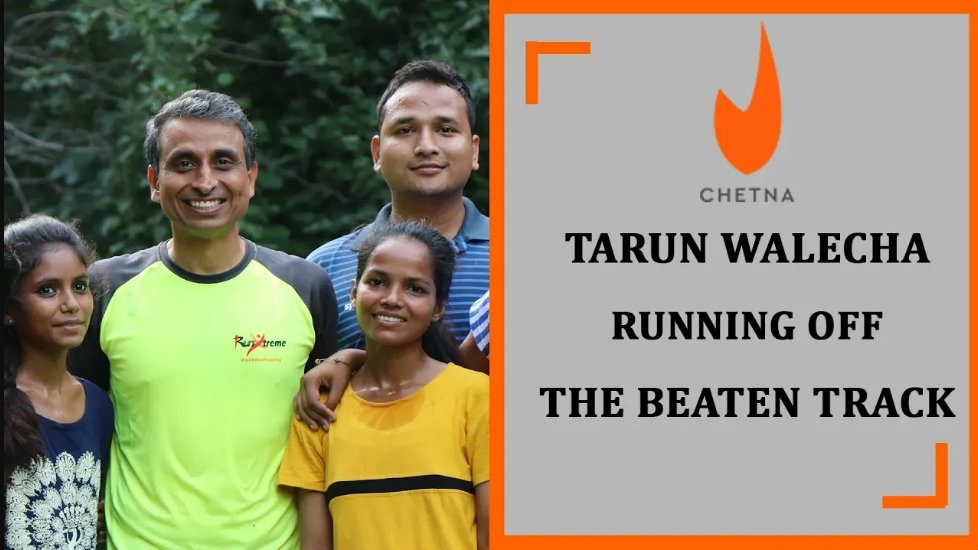 Stories of our PJF heroes | Running off the beaten track – Tarun Walecha