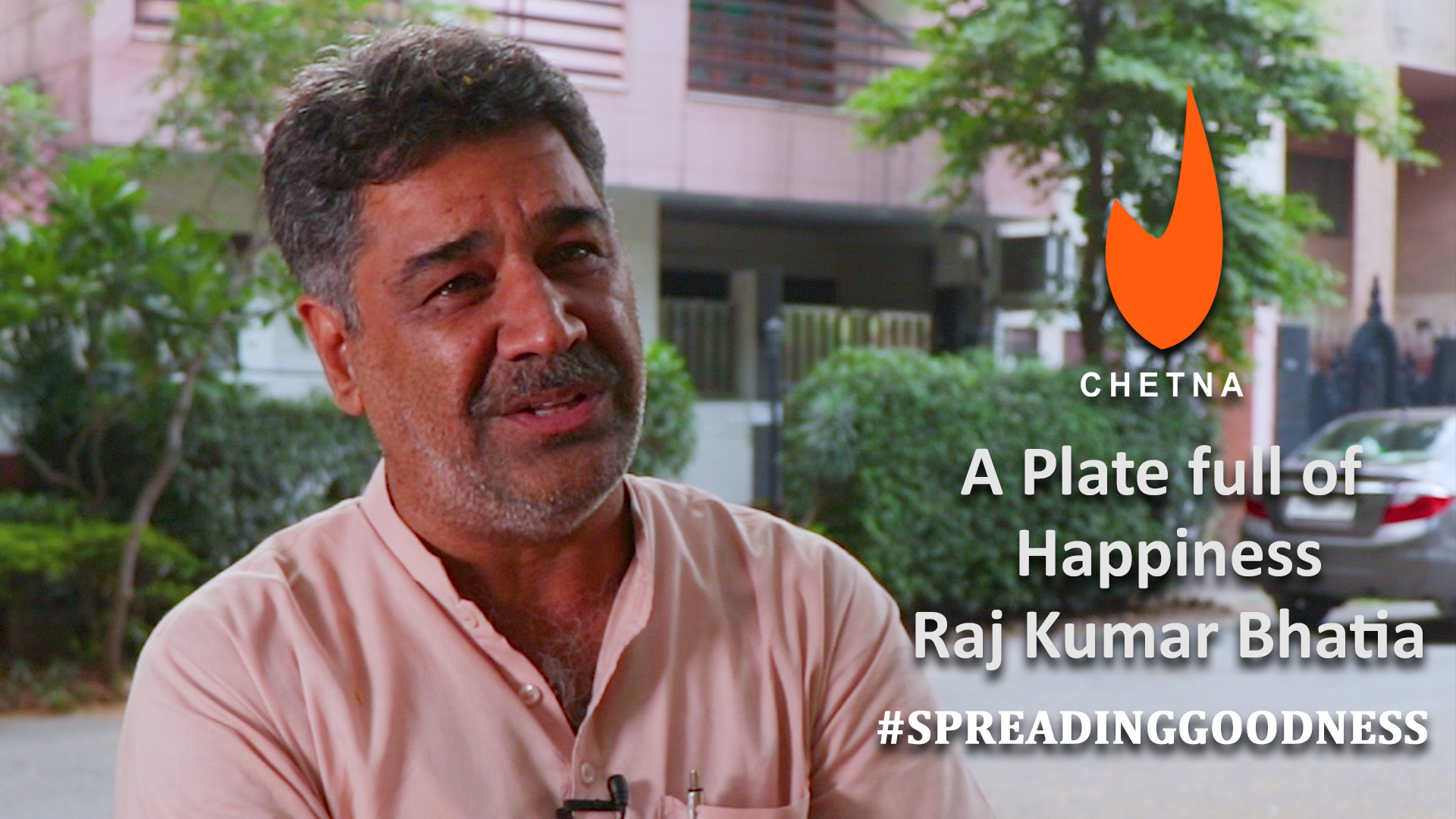 Stories of our PJF heroes | A Plate full Happiness - Raj Kumar Bhatia
