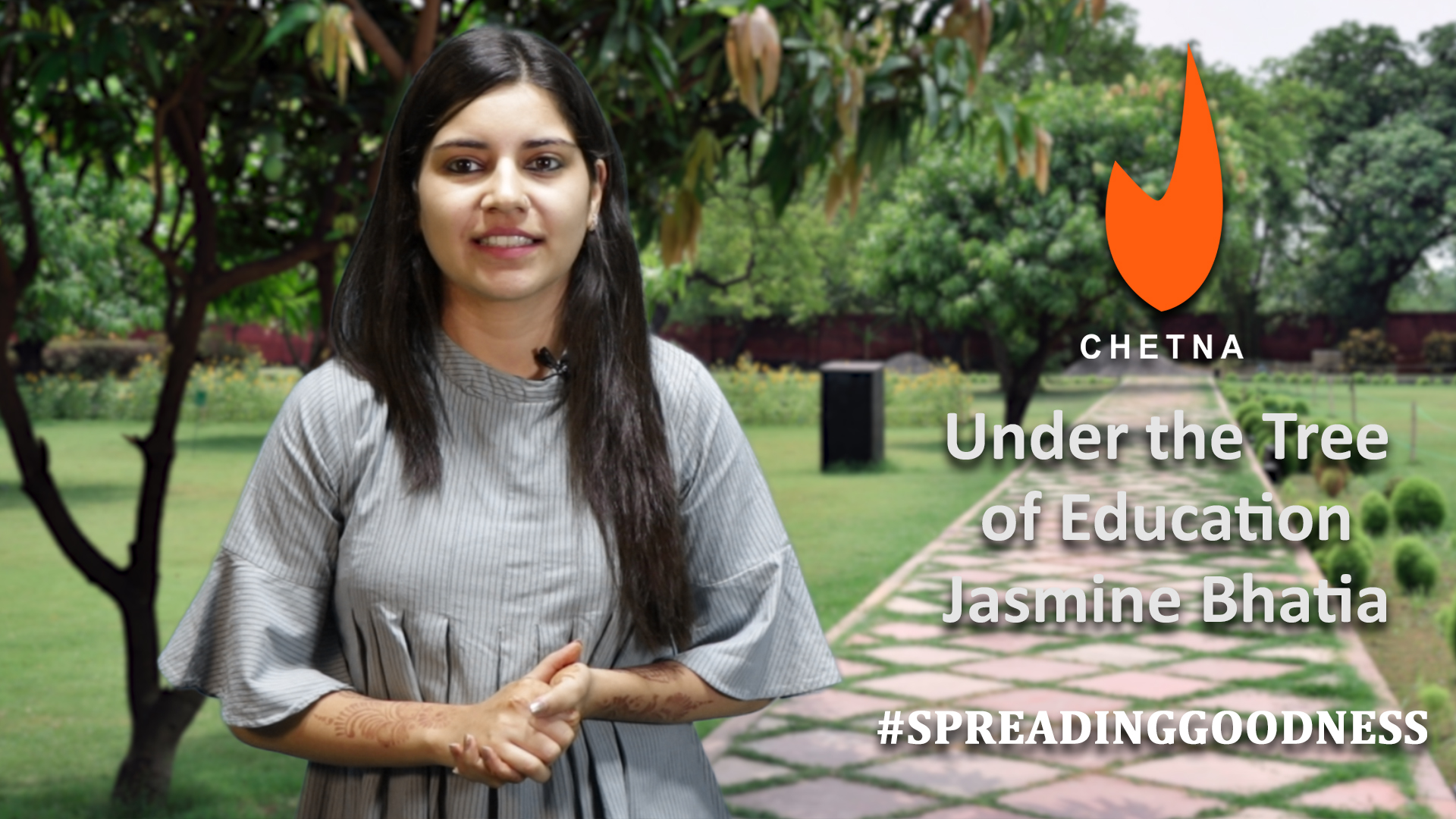 Stories of our PJF heroes | Under the Tree of Education - Jasmine Bhatia